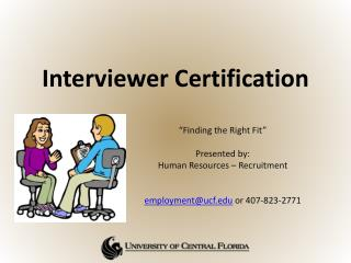 Interviewer Certification