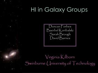 HI in Galaxy Groups
