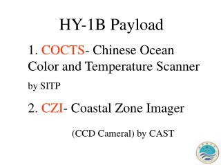 HY-1B Payload