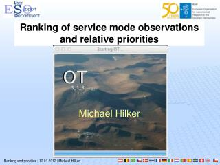 Ranking and priorities | 12.01.2012 | Michael Hilker