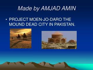 Made by AMJAD AMIN