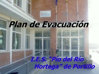 Plan de Evacuaci n