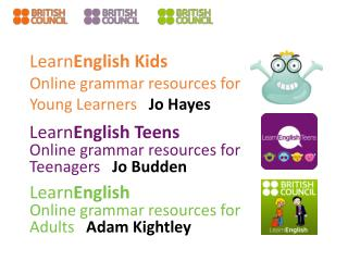 Learn English Kids Online  grammar resources  for  Young  Learners Jo Hayes
