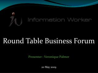 Round Table Business Forum