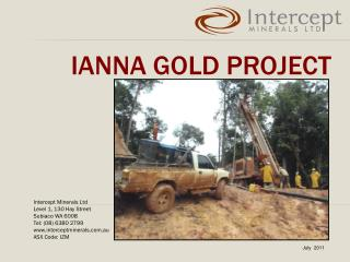 Ianna Gold project