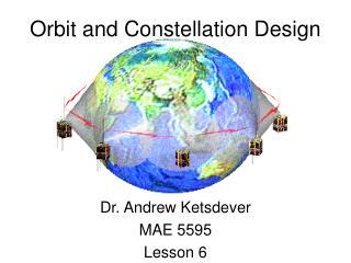 Orbit and Constellation Design
