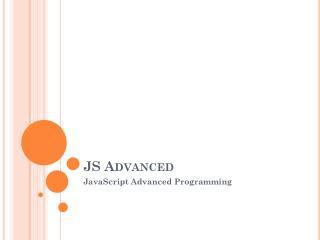 JS Advanced