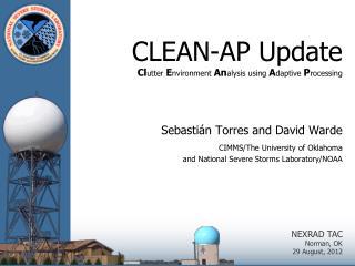 CLEAN-AP Update Cl utter  E nvironment  An alysis using  A daptive  P rocessing