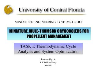 MINIATURE JOULE-THOMSON CRYOCOOLERS FOR PROPELLENT MANAGEMENT