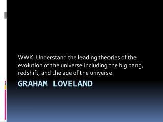 Graham Loveland