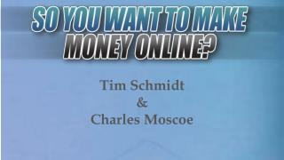 Know how to make money online
