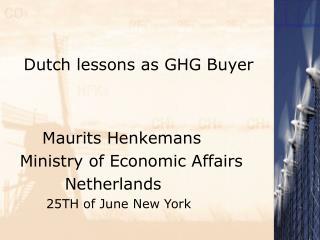 Dutch lessons as GHG Buyer