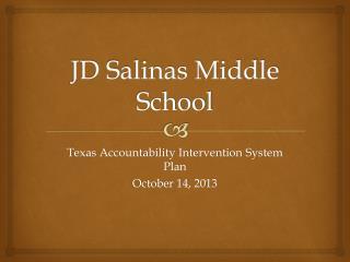 JD Salinas Middle School