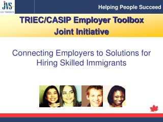 Connecting Employers to Solutions for Hiring Skilled Immigrants