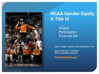 NCAA Gender Equity & Title IX