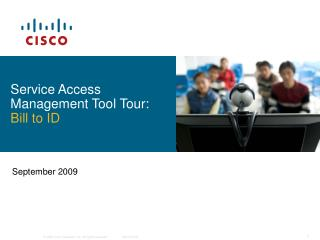 Service Access Management Tool Tour: Bill to ID