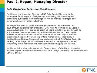 Paul J. Hogan, Managing Director