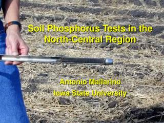 Soil Phosphorus Tests in the North-Central Region