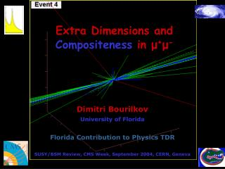 Extra Dimensions and  Compositeness  in  μ + μ -