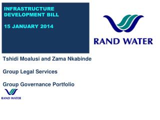 Tshidi Moalusi and Zama Nkabinde Group Legal Services Group Governance Portfolio