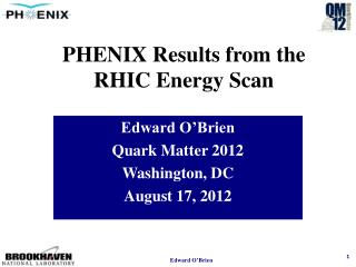 PHENIX Results from the RHIC Energy Scan