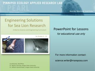 PowerPoint for Lessons