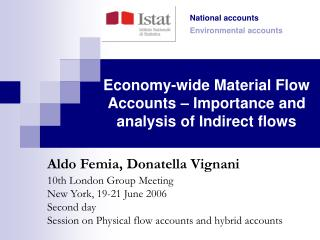 Economy-wide Material Flow Accounts – Importance and analysis of Indirect flows
