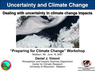 Uncertainty and Climate Change