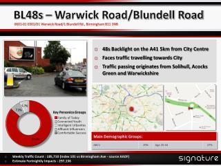 BL48s – Warwick Road/Blundell Road