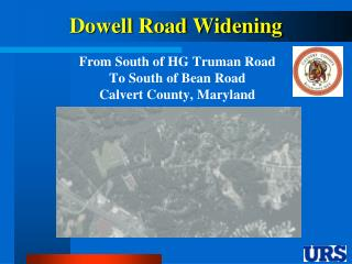 Dowell Road Widening