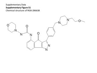 Supplementary Data Supplementary Figure S1 Chemical structure of RGB-286638