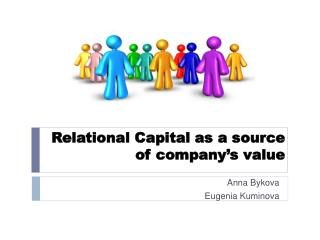 Relational Capital as a source  of company's value