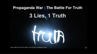 3 Lies, 1 Truth