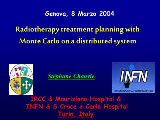 Radiotherapy treatment planning with Monte Carlo on a distributed system