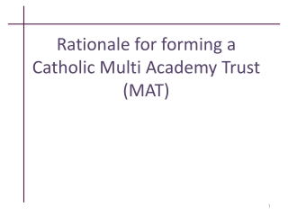 Conversion to academy status  A journey with a rationale