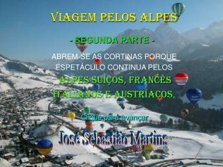 VIAGEM PELOS ALPES - II