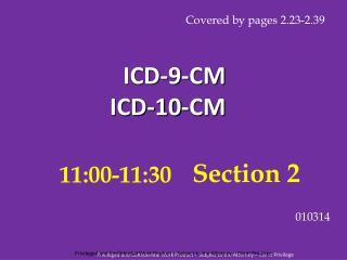 ICD-9-CM ICD-10-CM