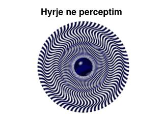 Hyrje ne perceptim