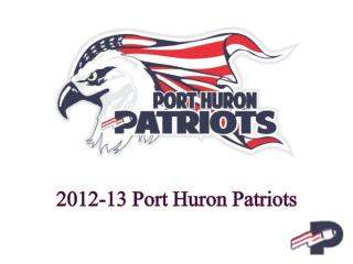 2012-13 Port Huron Patriots