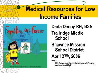 Medical Resources for Low Income Families