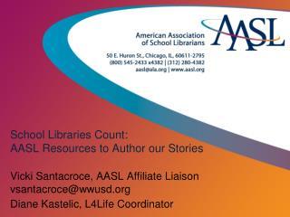 School Libraries Count WEMTA 2012