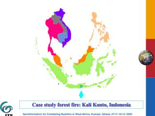 Case study forest fire: Kali Konto, Indonesia