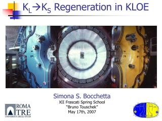 K L  K S  Regeneration in KLOE