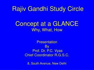 Rajiv Gandhi Study Circle