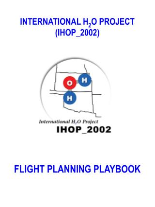 INTERNATIONAL H 2 O PROJECT  (IHOP_2002)