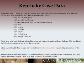 Kentucky Case Data