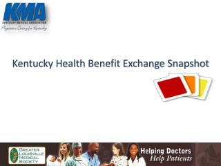 Kentucky Health Benefit Exchange Snapshot