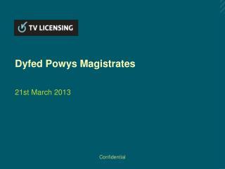 Dyfed Powys Magistrates