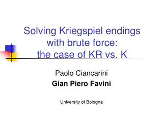 Solving Kriegspiel endings with brute force:  the case of KR vs. K