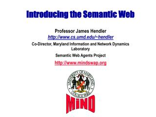 Introducing the Semantic Web